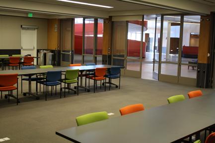 Inside Osher Foundation Education Center