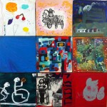 15 tiles from the Disability mural